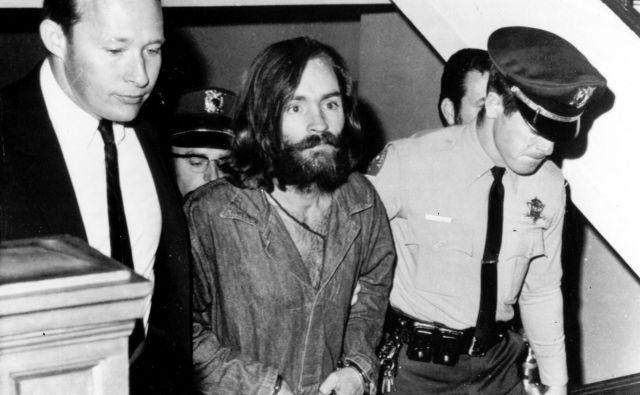 Charles Manson je bil v času umorov star 34 let. FOTO: Afp