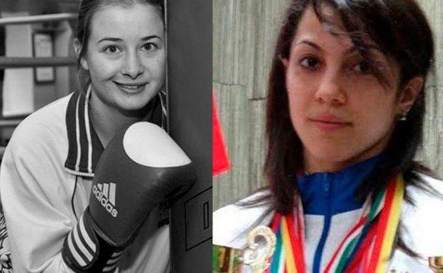 Elina Gismejeva in Fatima Žagupova sta bili vrhunski kikboksarki. FOTO: Facebook