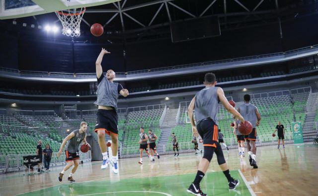 Košarkarji Cedevite Olimpije so se začeli pripravljati na novo sezono. FOTO: Uroš Hočevar
