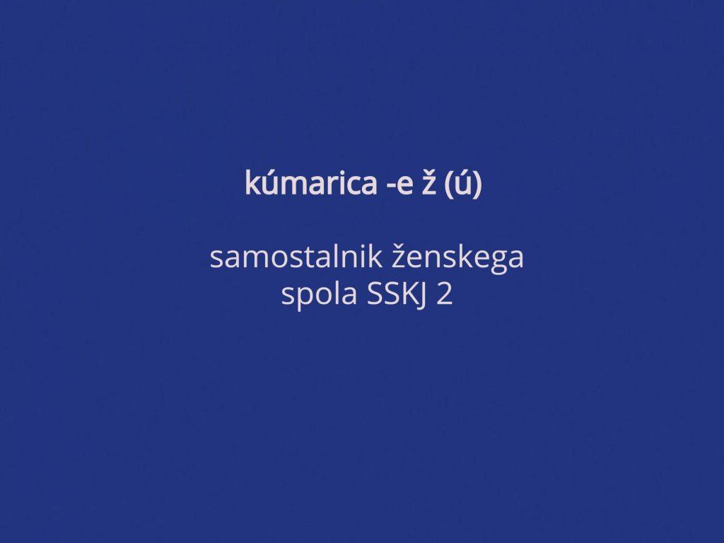 Kumarica