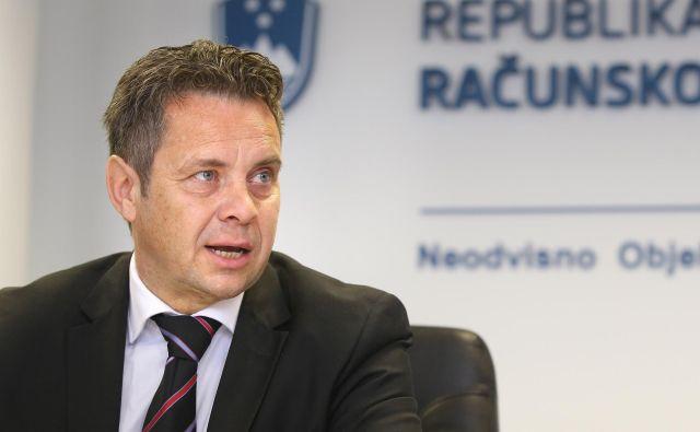 Računsko sodišče, ki ga vodi Tomaž Vesel, je kritično prevetrilo izvajanje lanskega proračuna. FOTO: Igor Zaplatil/Delo