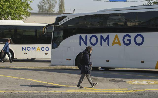 Avtobusi podjetja Nomago FOTO: Jože Suhadolnik/Delo