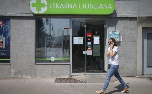 Na ministrstvu za zdravje in v Lekarniški zbornici Slovenije so v sredo pojasnili, da je bil po njihovih informacijah napaden lokalni informacijski sistem Lekarne Ljubljana, ki ni povezan z nacionalnim sistemom eZdravja. FOTO: Jože Suhadolnik/Delo