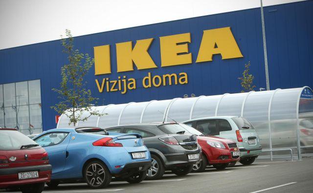 Švedska Ikea bo za gradnjo trgovine potrebovala le leto dni, projekt je ocenjen na kar 90 milijonov evrov. FOTO: Jure Eržen/Delo