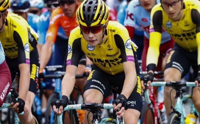 Jonas Vingegaardje dobil 6. etapo dirke po Poljski in se veselil prve zmage. FOTO: teamjumbovisma.com