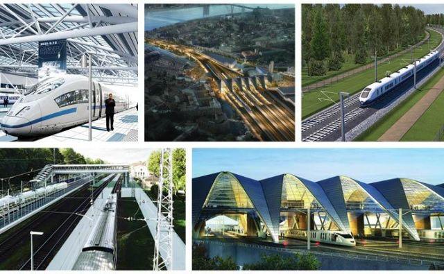 Rail Baltico naj bi dokončali leta 2025, leto kasneje bo stekel potniški in tovorni promet. Fotografije: EDZL