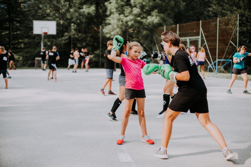 FOTO:Poletni kamp Boksarske akademije za otroke