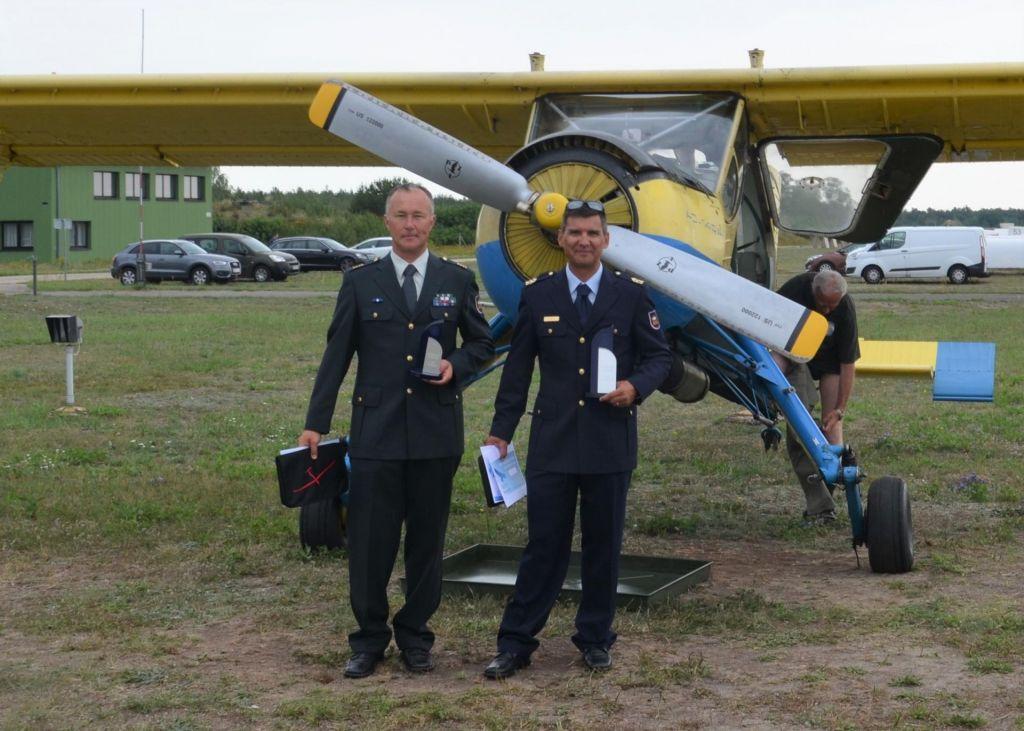 Slovenska pilota z zlatom in bronom