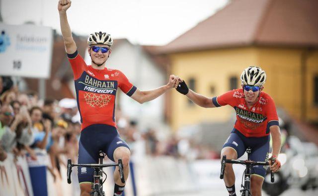 Matej Mohorič (Bahrain Merida) je zaokrožil odličen teden slovenskih kolesarjev na dirki po Poljski. FOTO: Uroš Hočevar