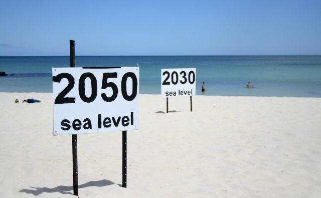 Gladina svetovnih morij je v zadnjem stoletju naraščala. Foto: Flickr