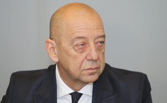 Član uprave Sija Tibor Šimonka FOTO: Jože Suhadolnik/Delo