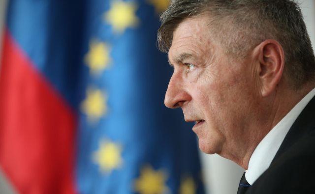 Rudi Medved minister za javno upravo nezadovoljne župane poziva k dialogu. Foto Jure Eržen