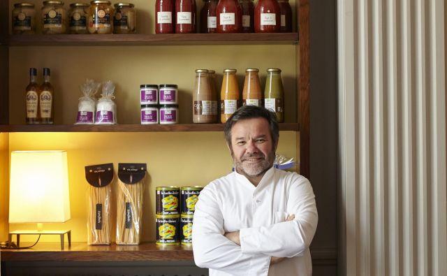 Michel Troisgros: Moje kuhanje se ves čas spreminja in izboljšuje s tveganji in vključevanjem novih vplivov.<br /> Fotografiji Promocijsko gradivo