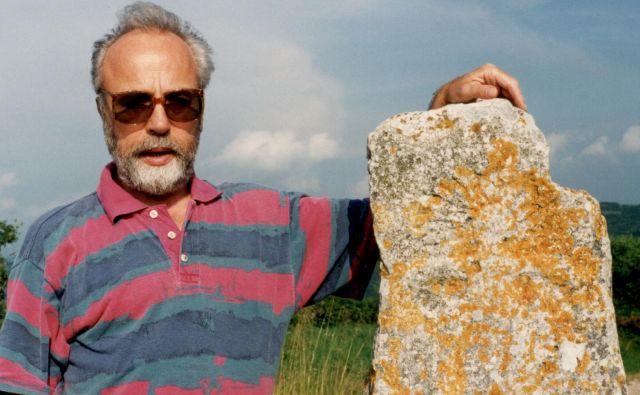 Marjan Tomšič je literarno oživil dve težki obdobji istrske zgodovine, življenje šavrink in aleksandrink. Foto Silva Karim