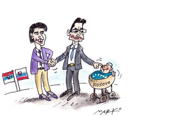 Karikatura Foto Marko Kočevar