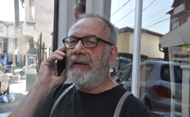 Gáspár Miklós Tamás, madžarski filozof Foto Branko Soban