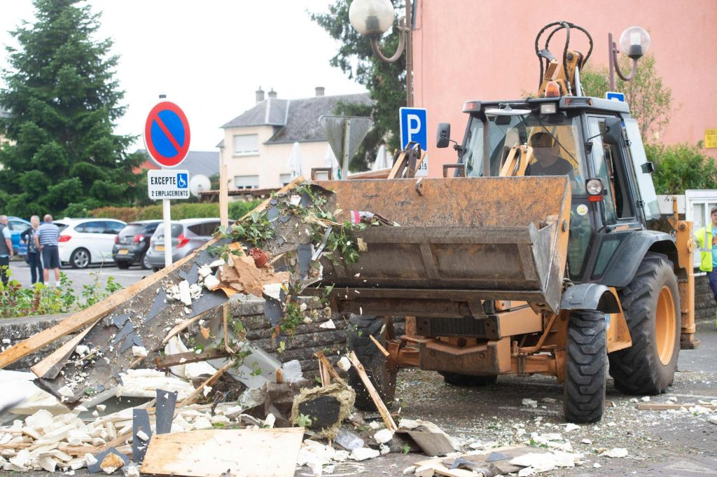 V tornadu v Luksemburgu več ranjenih