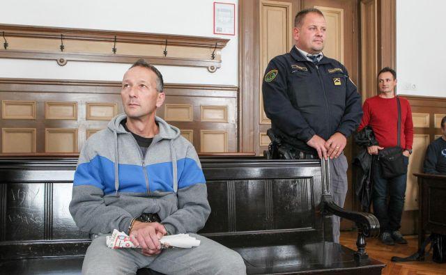 Slobodan Bobić je očitke iz obtožnice od vsega začetka zanikal. FOTO: Marko Feist