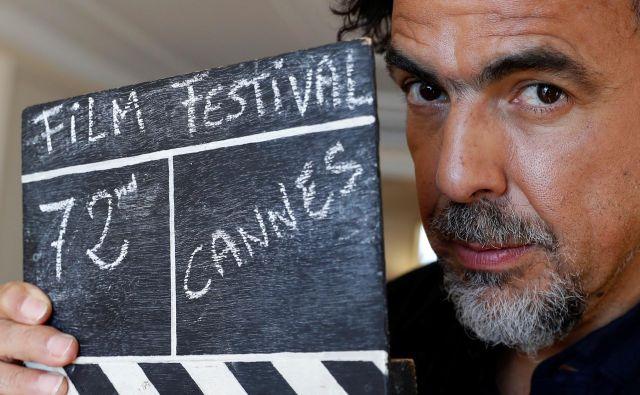 Na letošnjem festivalu v Cannesu je bil Alejandro González Iñárritu predsednik žirije. FOTO: Reuters