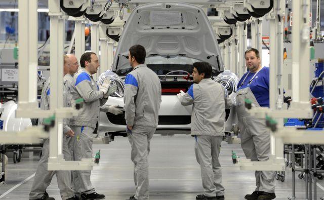 Nemčija je daleč največja trgovinska partnerica Slovenije. FOTO: Fabian Bimmer/Reuters