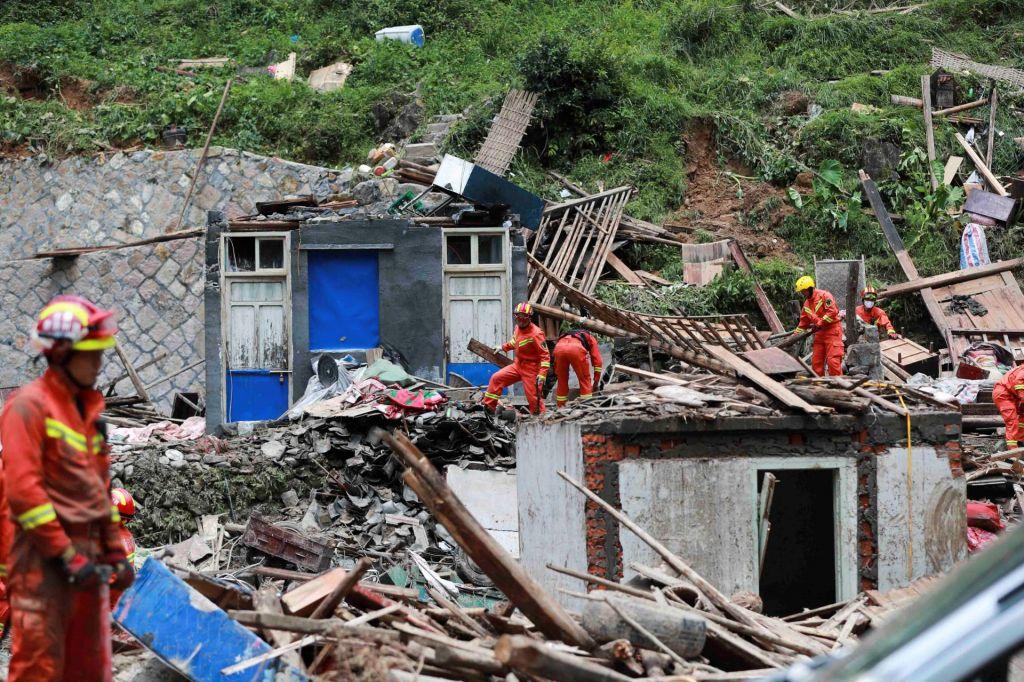 FOTO:Tajfun Lekima terjal več kot 40 življenj