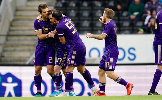 Kaj bi bilo, če bi Maribor imel prednost dveh golov (2:0) ob polčasu, se zaradi zamujenih priložnosti sprašujejo tudi v vijoličastem taboru. FOTO: Reuters