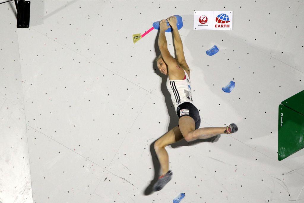 Janja Garnbret neulovljiva tudi v polfinalu