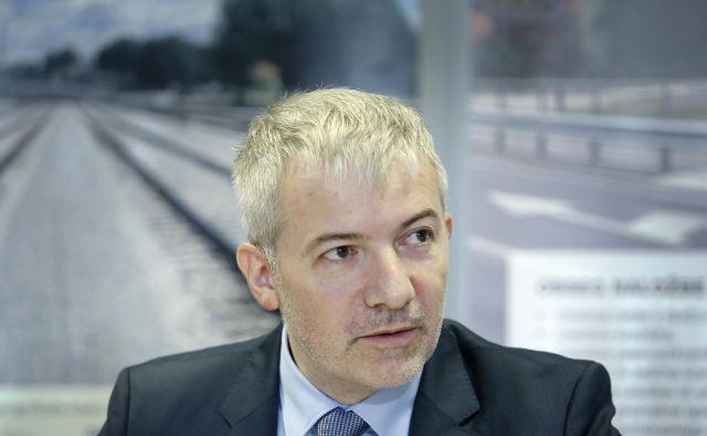 Vlada bo danes na dopisni seji odločala o razrešitvi direktorja direkcije za infrastrukturo Damirja Topolka. FOTO: Aleš Černivec/Delo