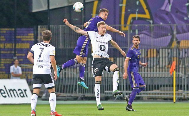 Za Maribor je bila v dvoboju z Rosenborgom, ki je narekoval razmerja sil v Trondheimu, prelomna domača tekma v Ljudskem vrtu. FOTO: Tadej Regent/Delo