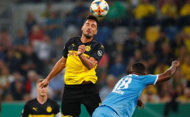 Izkušeni Mats Hummels se je po treh letih vrnil iz Bayerna v Dortmund. FOTO: Reuters