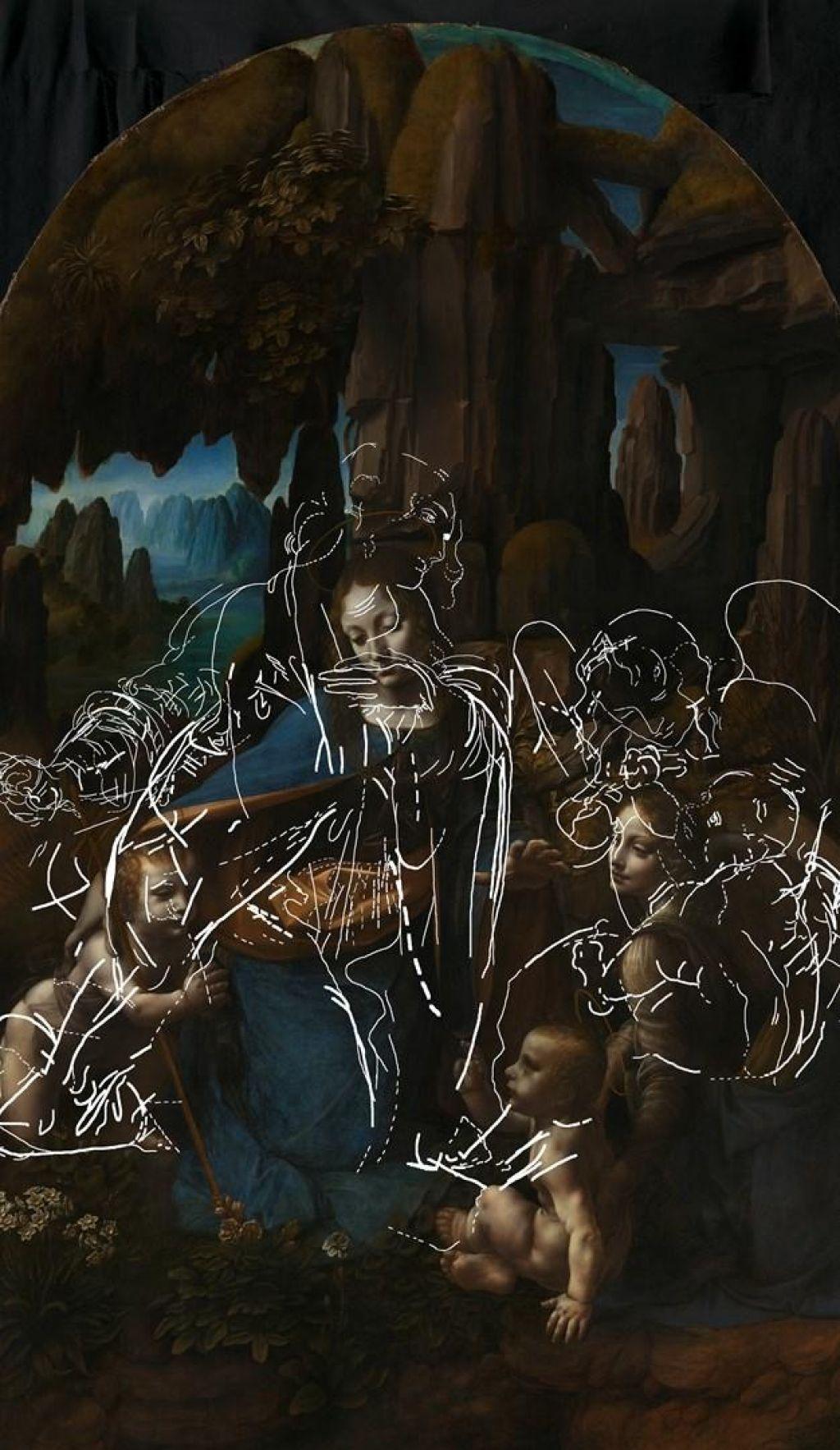 Leonardova londonska Madona v votlini še zanimivejša, kot so menili doslej