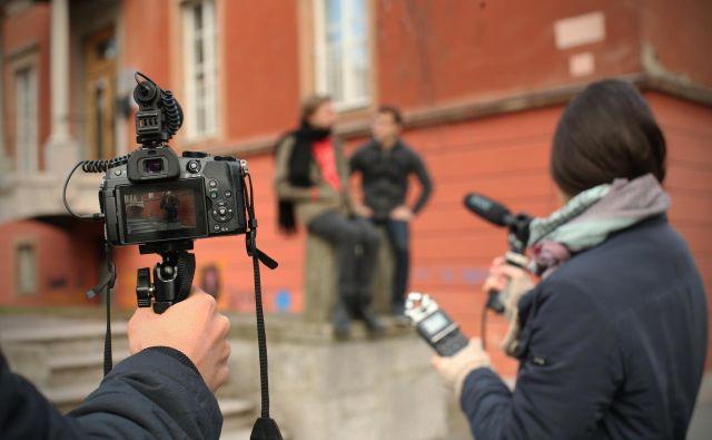 Igralci, filmski producenti in avtorji avdiovizualnih del so med upravičenci za prejetje nadomestil. FOTO: Jure Eržen