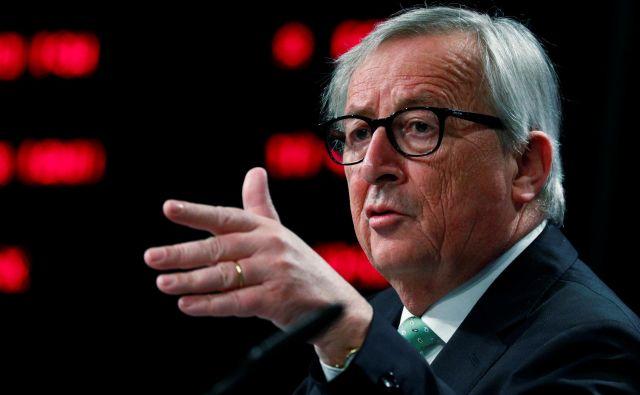 Jean-Claude Juncker naj bi se sicer po prvotnih načrtih naslednji teden udeležil vrha G7 v francoskem Biarritzu. FOTO: Francois Lenoir/Reuters