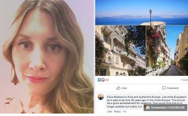 Elizabeta Mađarević je prepričana, da napad ni uperjen zoper njo, temveč vlado in hrvaškega novega zunanjega ministraGorana Grlića Radmana.FOTO: Facebook