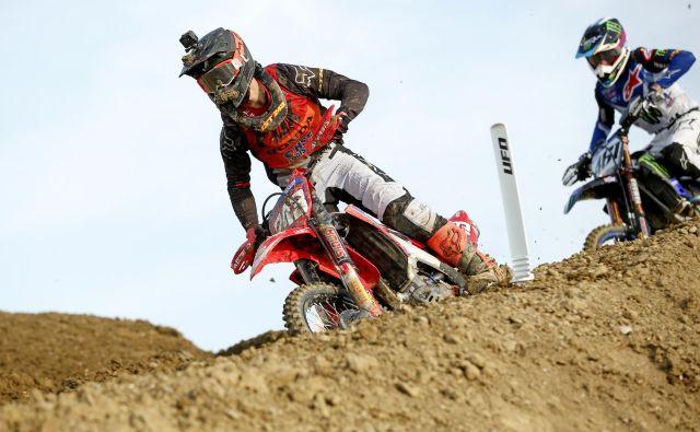 Tim Gajser je drugič postal svetovni prvak v MXGP. FOTO: Matej Družnik