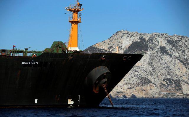 Ameriško pravosodno ministrstvo je v petek zahtevalo zaseg iranskega naftnega supertankerja, ker da krši ameriške sankcije. FOTO: Jon Nazca/Reuters