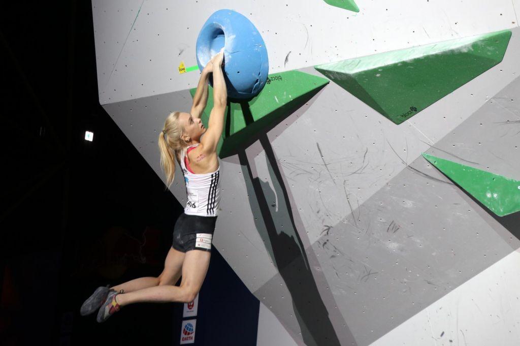 Garnbretova v finale kombinacije in na olimpijske igre