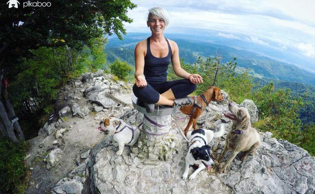 Izlet s psi v varstvu na Polhograjsko Grmado. Foto: Arhiv podjetja