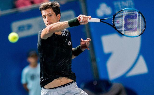 Aljaž Bedene je na 80. mestu najvišje uvrščeni Slovenec na lestvici ATP. FOTO: Sportida