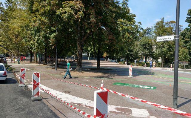 Na ljubljanskem Prekmurskem trgu bo še letos stal tudi spomenik združitve z matičnim narodom. FOTO: Aleš Stergar