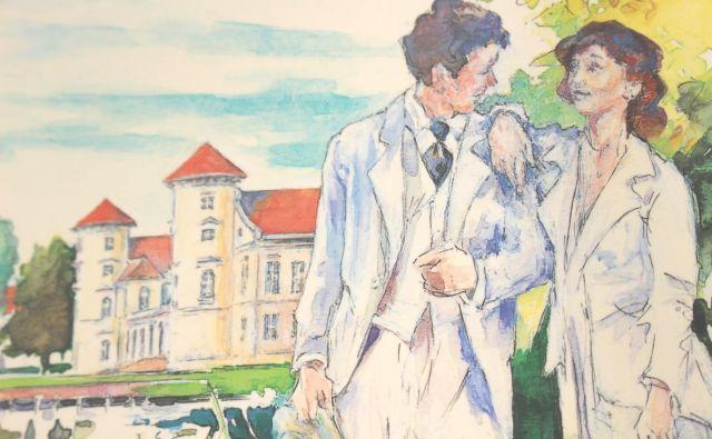 »Pogledal sem jo in vrnila mi je pogled: z očmi sva se prijela za roke. Bila je z mano. Sem je sodila.« Foto: Kurt Tucholsky Museum Rheinsberg