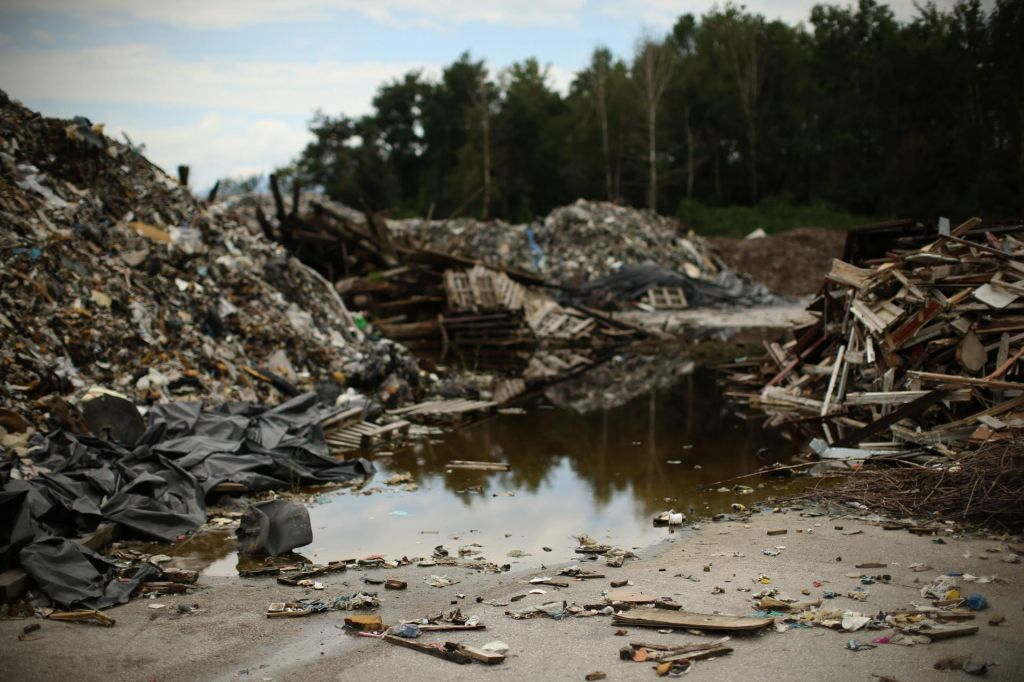 Na pogorišču Ekosistemi v Zalogu stekla sanacija