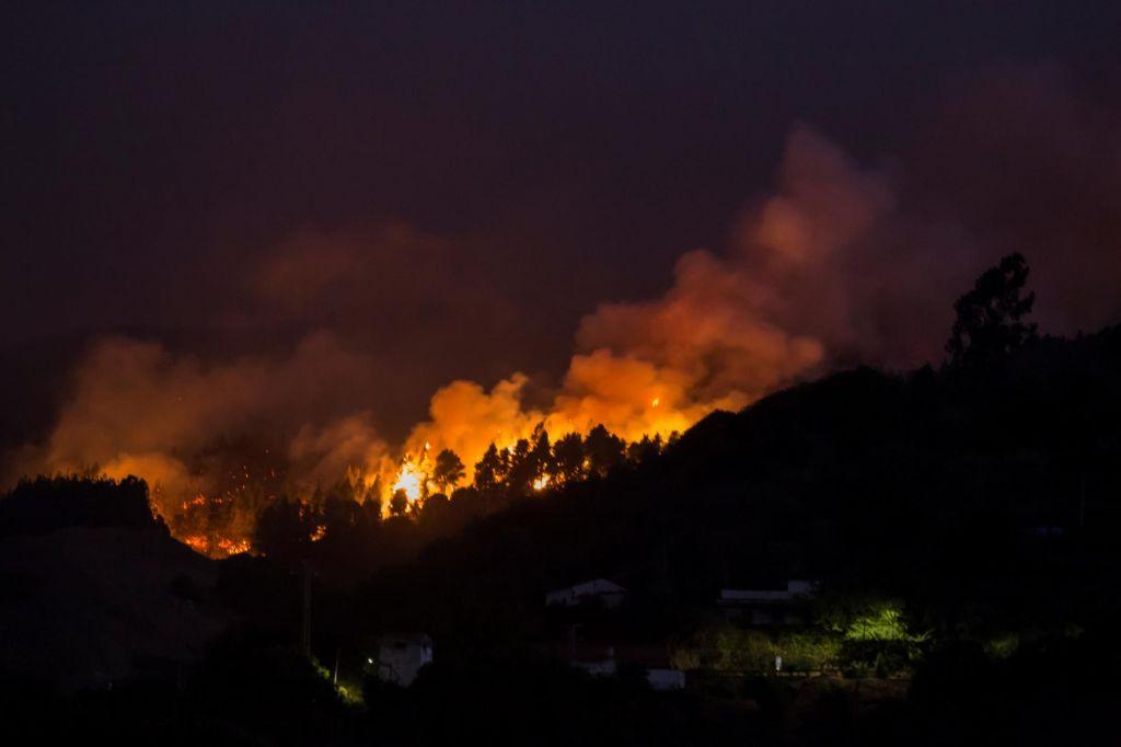 FOTO:Zaradi požara na Gran Canarii evakuirali več tisoč ljudi (VIDEO)