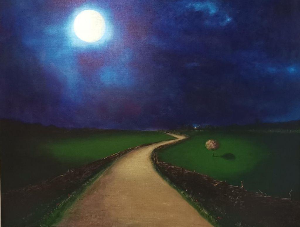 FOTO:Pridi z luno, mesečino, modrino, optimisti in z mano