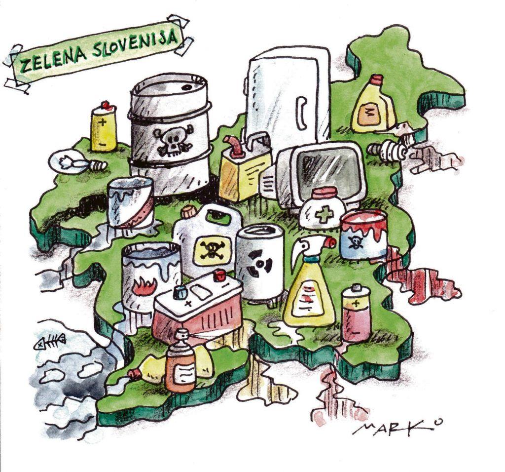 Država, ki ne zna poskrbeti za odpadke