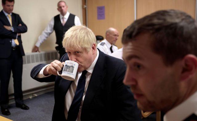 Boris Johnson se bo danes v Berlinu srečal s kanclerko Angelo Merkel in jutri v Parizu s francoskim predsednikom Emmanuelom Macronom.<br /> Foto AFP