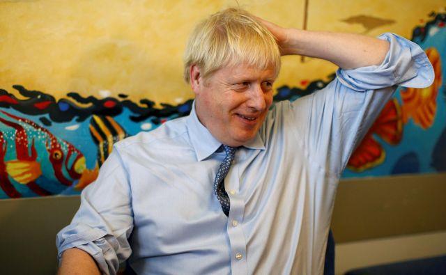 Boris Johnson FOTO: Peter Nicholls/Reuters