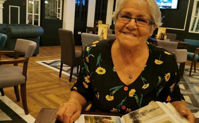 »Starejši ljudje se med sabo spoštujemo, mlajši pa so indoktrinirani, zaradi politike. Nič ne vedo, ne poznajo zgodovine, politiki lahko z njimi manipulirajo. Z nami, starejšimi, ne morejo, ker imamo osebne izkušnje,« pravi Marica Mihajlović. Foto Milena Zupanič