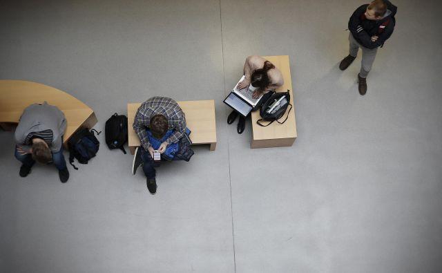 Univerzi v Ljubljani in Mariboru sta letos padli na Šanghajski lestvici, drugih slovenskih pa na njej sploh ni. FOTO: Blaž� Samec