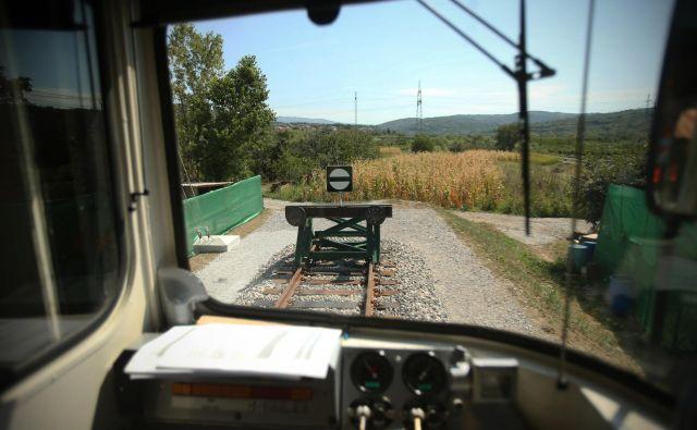 Začetek gradnje mostov čez Glinščico še ni znan. Foto Jure Eržen/Delo